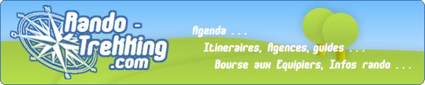 www.rando-trekking.com Equipiers Aides Conseils Idées rando Itinéraires Agenda