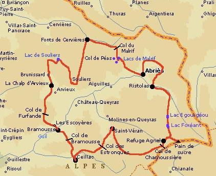 Tour Du Queyras Carte.Tour Du Queyras Forums Randonnee Trekking