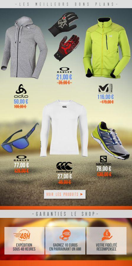 3358211f92eb8c Les meilleurs bons plans équipement et matériel par Private Sport Shop