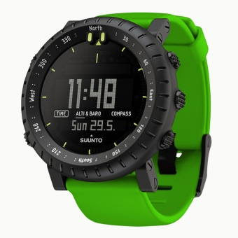 Montre outdoor SUUNTO CORE CRUSH (altimètre, baromètre, boussole) en promo - 35%