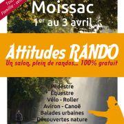 Salon Attitudes Rando à Moissac les 1, 2 et 3 avril 2016