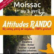 Les 8 randonnées pédestres du salon Attitudes Rando Avril 2016 à Moissac