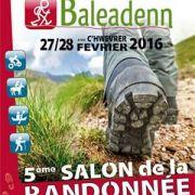 Salon de la randonnée BALEADENN au Relecq-Kerhuon, Finistère - 27/28 février 2016