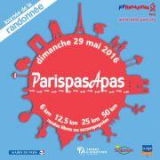ParispasApas : la randonnée de 50 km à la ronde dans Paris ! Dim. 29 mai 2016