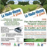 La Haute-Vienne à Pied 2016 - 13ème Edition
