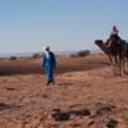 Randonnée dans le désert marocain novembre 2016