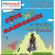 Dim 25 septembre 2016 : Fête départementale de la randonnée à l'Escarène (Alpes-Maritimes)