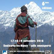 Festival du Film de Montagne et d'Exploration 17-18-19 nov. 2016