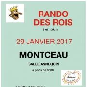 Randonnée des rois à Montceau (38)