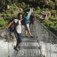 Fan de randonnées dans l'Himalaya au Népal
