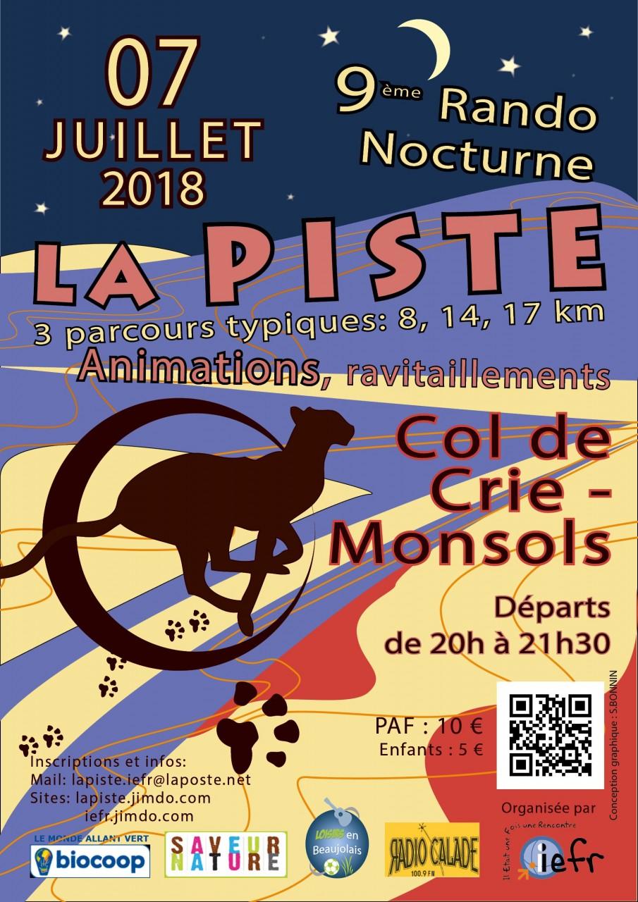 Affiche Lapiste 9-0 - light