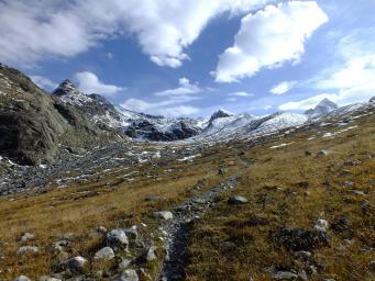 Sur le voie du tour du mont coua
