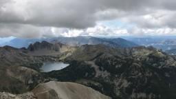 Lac d'Allos depuis le Mont Pelat