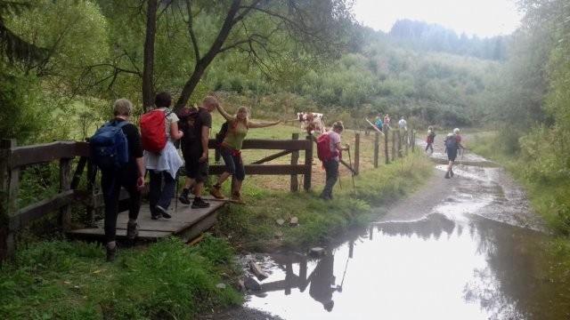 Activités de Proxirando en 2018 29/10/18 - Vallée de l'Our, BE