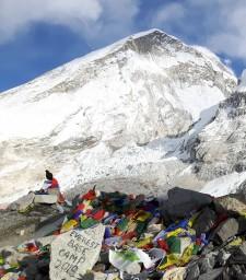 Camp de base de L'Everest 5/01/19