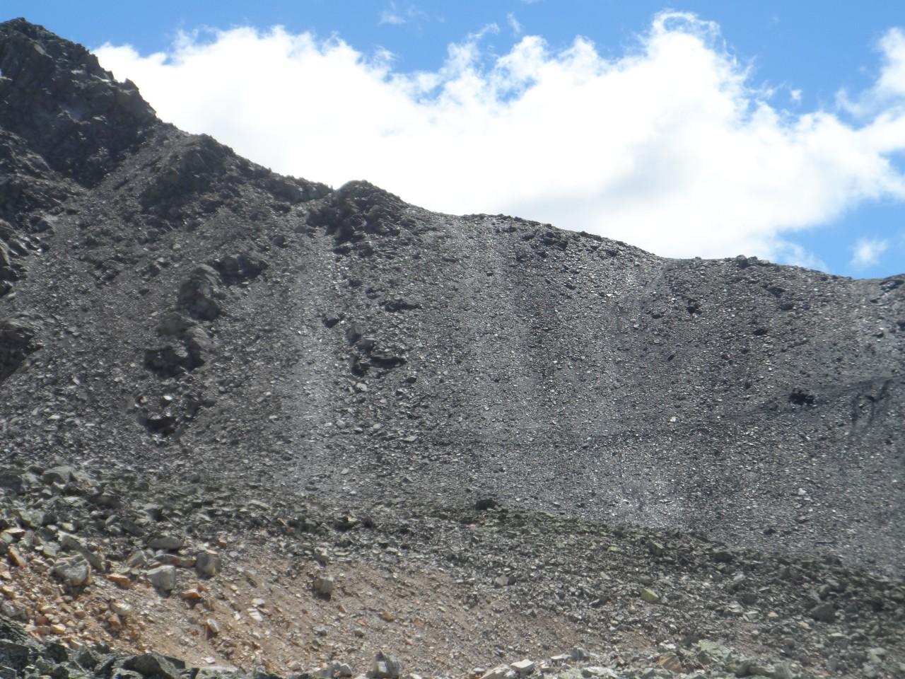 Sans nom 9/02/19 - vue sur le sentier pour arriver au sommet du Mont Thabor