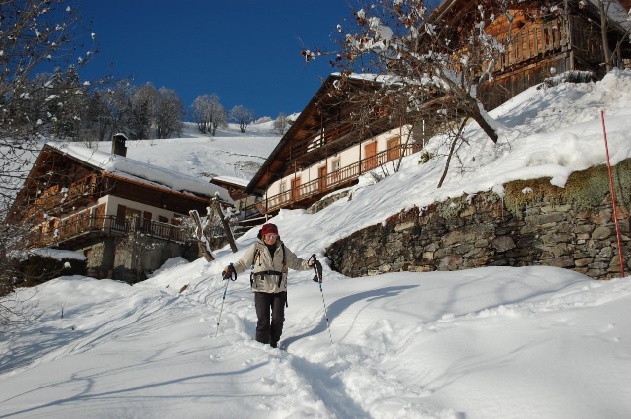Randos d'hiver Proxirando 27/12/19 - Les Grands Chalets du Hameau de Boudin, en Beaufortain