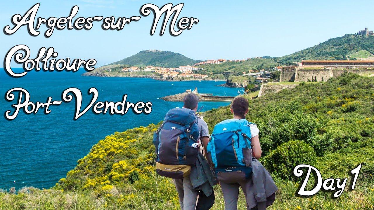 Grande randonnée sur la côte méditerranéenne - Jour 1 | Argelès-sur-Mer, Collioure, Port-Vendres
