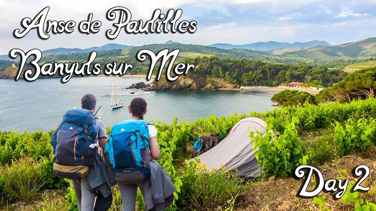 Grande randonnée sur la côte méditerranéenne  - Jour 2 | Anse de Paulilles, Banyuls-sur-Mer