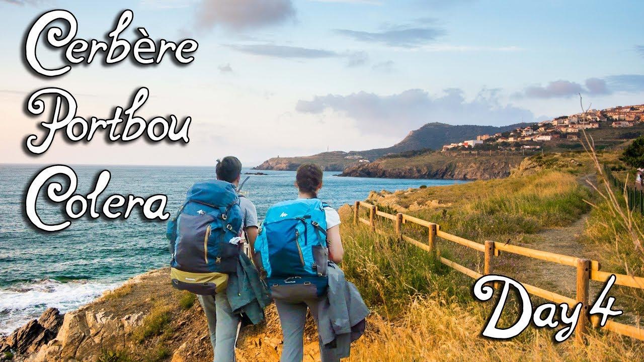 Randonnée sur la côte méditerranéenne en Costa Brava, Espagne| Jour 4 - Cerbère, Portbou, Colera