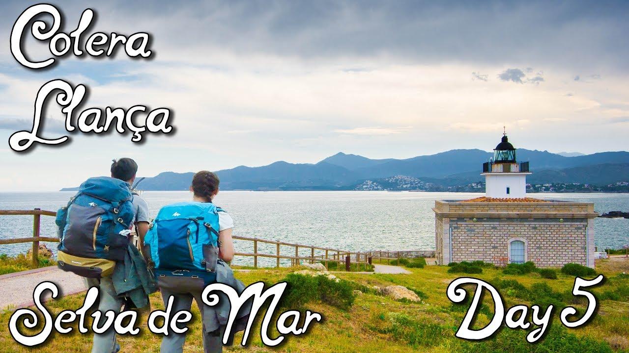 Randonnée sur la côte méditerranéenne en Costa Brava, Espagne| Jour 5 - Colera, Llançà, Selva de Mar