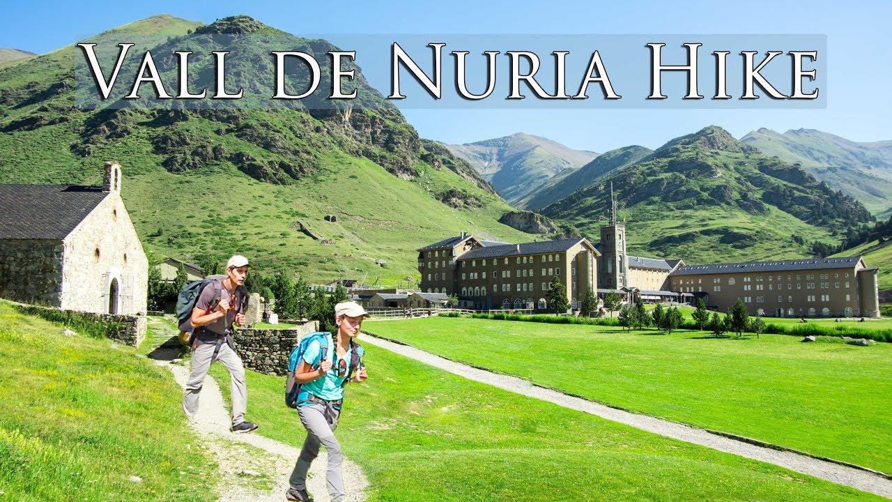 Vidéo: Randonnée panoramique dans la Vallée de NURIA dans les Pyrénées, Espagne