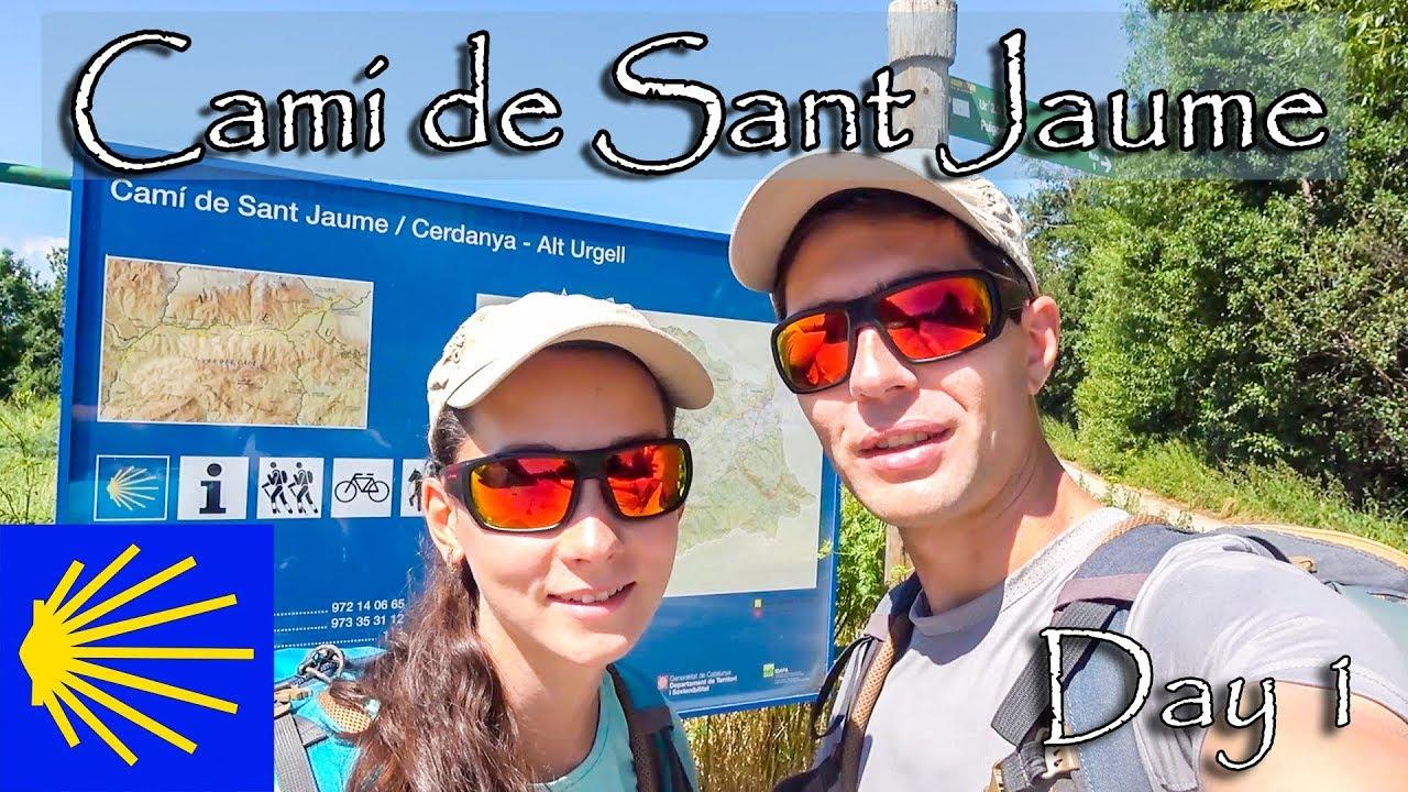 Randonnée Cami de Sant Jaume - Jour 1 (Camino de Santiago en Catalogne, Espagne) | De Llivia à Isovol