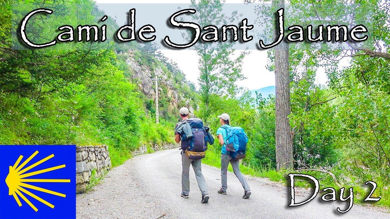 Camino de Santiago en Catalogne,Espagne-2|Cami de Sant Jaume