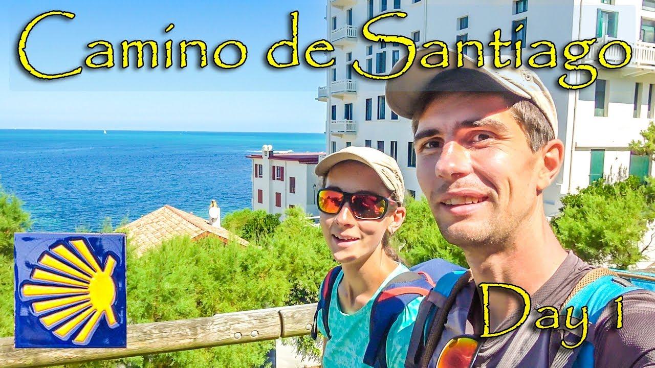 Nous nous sommes fait virer du camping! | Premier jour du Camino del Norte