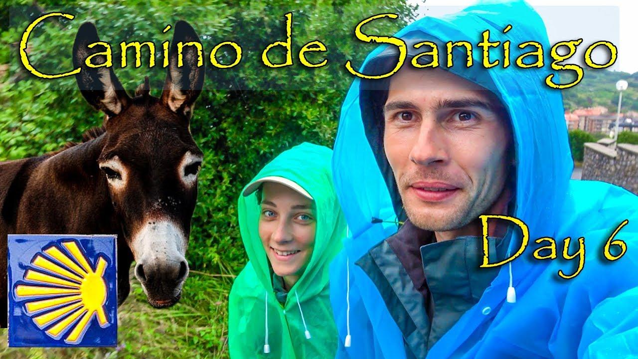 Randonnée avec l'âne | Camino de Santiago del Norte de Zumaia à Deba Jour 6