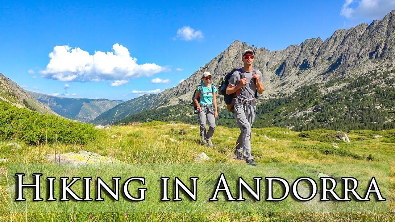 Incroyable randonnée en Andorre | Passage de la frontière entre Porta, France et Pas de la Casa, Andorre