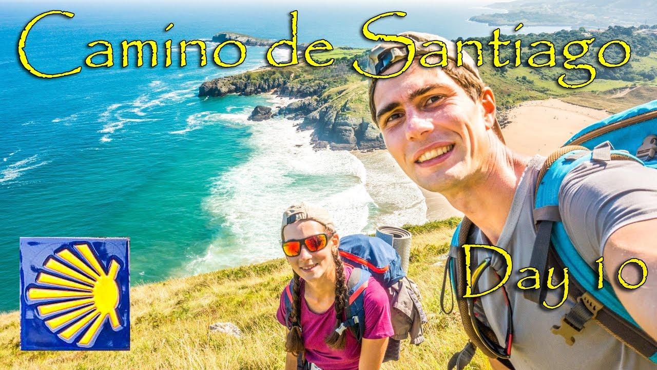Escalade et incroyable côte océanique Randonnée en Cantabrie, Espagne | Camino del Norte d'Oriñon à Laredo-Jour 10