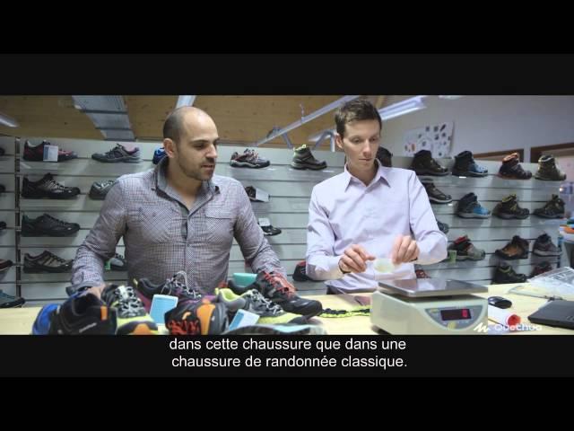 Quechua Conception - Chaussure Forclaz 500 Helium