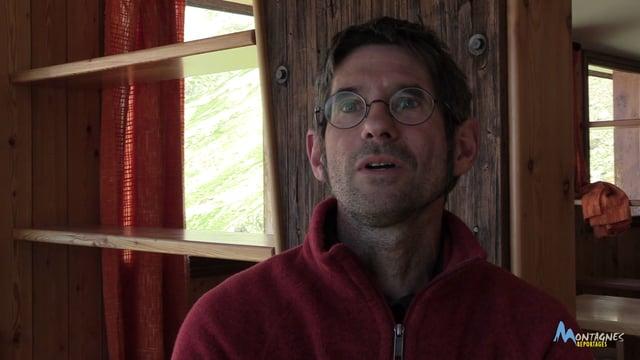 Face à Face avec Olivier Parent, gardien du refuge du Pigeonnier dans le Valgaudemar (Écrins)