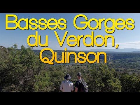 Randonnée - Quinson - Basses Gorges du Verdon