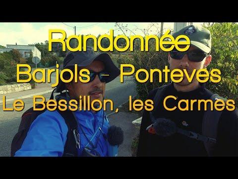 Randonnée - Barjols - Ponteves, le Bessillon, les Carmes