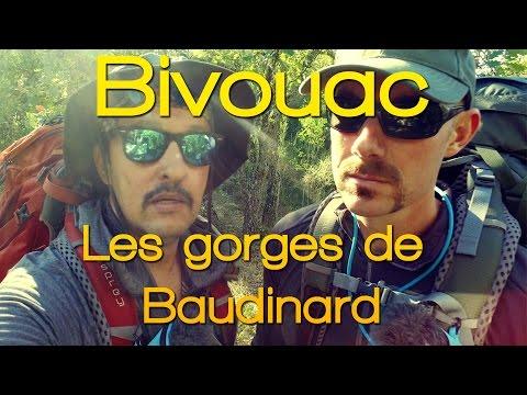 Bivouac - Les gorges de Baudinard