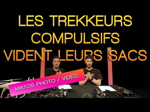 Les Trekkeurs Compulsifs vident leurs sacs ! MATOS PHOTO/VIDEO